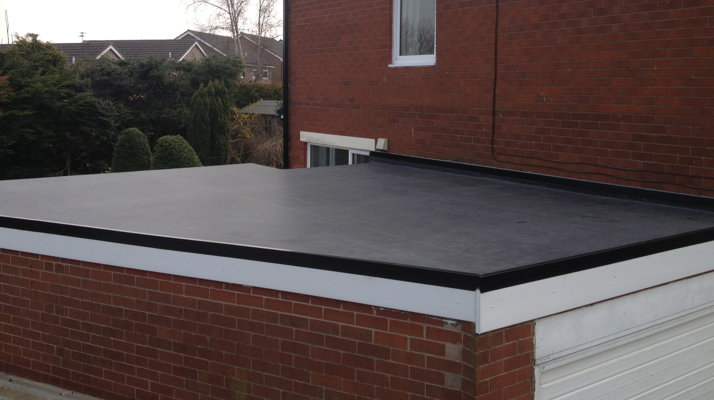 EPDM Rubber Roofing provides long-term durability and increased performance.